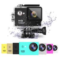 versand 12mp großhandel-Volle HD 1080P Kamera SJ4000 A9 GEGEN Eken H9 12MP 30M imprägniern Sport-Aktions-Kamera DV AUTO DVR ePacket Verschiffen