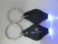mini detectores de dinero uv al por mayor-Mini linternas de moda Detector de dinero UV barato Luz LED Multicolor Pequeño regalo al por mayor 4.2 * 4.3CM Color aleatorio