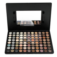 Wholesale Pigment 88 - Make Up 88 Earth Colors Matte Pigment Eyeshadow Palette Cosmetic Makeup Eye Shadow with Portable Makeup Mirrow