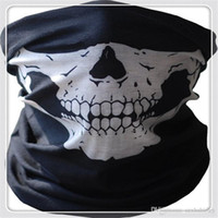 Magic Scarf Balaclava Skull Bandana 500Pcs Capacete Máscaras de pescoço Bike Motocicleta Ski Outdoor Sports Neck Face Mask Halloween Party Cosplay