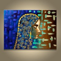 Wholesale egyptian oil paintings for sale - Group buy Framed Hand painted Canvas Oil Painting Egyptian Girl Home Living Room Decoration Pictures Wall Art Modern Abstract Paintings AMP60