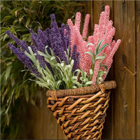 Wholesale Silk Family - Simulation Flower Provence Lavender Flowers Silk Flowers Plant Simulation Plants Artificial Flowers Adornment Family Wedding Decoration