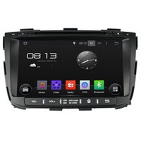 Wholesale Sorento Android - Fit for kia SORENTO 2013 2014 Android 5.1.1 system 1024*600 hd screen car dvd player gps navigation radio 3G wifi bluetooth dvr obd2
