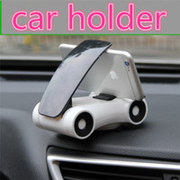 Wholesale smartphone iphone plus online – Phone Holder For smartphone iPhone plus Samsung s8 Sports Car Model Degrees Rotating Car phone Holder Desktop phone stand