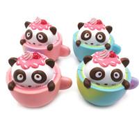 Wholesale Soft Air Gun Wholesale - Panda Bowls Squishy Real Reborn Baby Dolls Bulk Venting Ball Anger Stress Reliever Ball Toy Against Humanity Anti Stress Air Soft Guns
