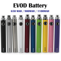 Wholesale Electronic Cigarette Battery Kit - EVOD Battery 650mah 900mah 1100mah Electronic Cigarettes Battery for MT3 Atomizer CE4 CE5 CE6 Electronic Cigarette E cig cigarette Kit