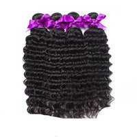 Wholesale Indian Hair Stock Price - Natural color Indian deep human hair cheap price 4pc raw virgin unprocessed hair indian wave large stock