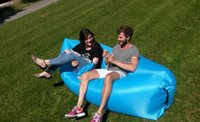Wholesale Inflatable Lounger Air Lounger Hangout Sofa Upgraded Great Home Chair Holds Air Better Hangout Bag Air Sofa