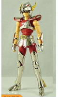 Wholesale Pegasus Bronze - King model helmet pegasus TV V1 model Bronze Saint Seiya knights of the zodiac action figure pegaso Cloth Myth Metal armor