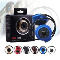 Wholesale sd card wireless music headphones for sale - Group buy Mini503 Sport Bluetooth Wireless Headphones Music Stereo Earphones Micro SD Card Slot FM Radio for Smart Cell Phone Android