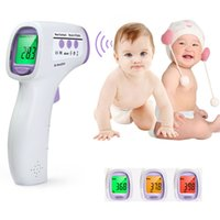 Wholesale Baby Adult Thermometer Infrared Digital Thermometer Gun Noncontact Temperature Measurement Device For Children Color Backlight