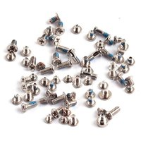 Wholesale 100 Brand New iPhone complete screw set Full Set Screws Kit for iPhone G C s for iPhone s Plus s Plus