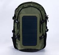 Wholesale Mobile Charging Bag - Outdoor solar backpack solar energy charging travel bag men and women outdoor bags energy saving mobile phone charging Backpack