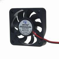 ventilateur de refroidissement 5cm achat en gros de-Vente en gros- 10pcs Gdstime Brushless Ventilateur 5010 24V DC 2Pin 50X50X10 50mm 5cm 9 Lames