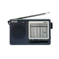 Wholesale Radio Receiver Sw - Wholesale-Free Shipping TECSUN R-9012 FM AM SW 12 Bands Portable Radio Receiver