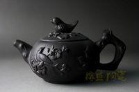teteras yixing al por mayor-Nuevo chino yixing zisha Trabajo hecho a mano Purple Clay (ZhuNi) picapica TeaPot 150CC