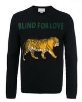 Wholesale Wool Shirts For Men - Shopping Tiger Winter Casual Sweater Brand Clothing Long Sleeve Mens Sweaters Blind For Love Leisure Shirt Pullover O-Neck Knitwear