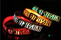 Wholesale Cat Zebra - Zebra pattern Nylon Pet LED Dog Collar Night Safety LED Flashing Glow LED Pet Supplies Dog Cat Wire mesh Collars