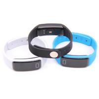 sağlık bilek bilezik toptan satış-S03H Bluetooth Akıllı Bilezik Spor Bileklik Kalp Hızı Monitörü Sağlık Uyku Tracker Bilek Bandı Su Geçirmez IP67 Android Telefonlar için