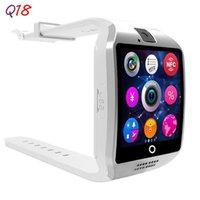 ingrosso telefoni di grande schermo-Bluetooth smart watch da uomo con touch screen Batteria di grande supporto TF card Fotocamera sim per Android Smart Phone