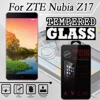 Wholesale gionee screen protector for sale – best Tempered Glass For Huawei Nova PLUS YU Yureka Black ZTE Nubia z17 Gionee S10B Screen H Protectors with retail crystal package