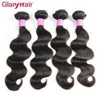 Wholesale Cheap Malaysian Body Wave Mix - Unprocessed Peruvian Hair Weave Bundles Glary New Arrival Mink Brazilian Body Wave Hair Bundles 4pcs Cheap Remy Raw Human Hair Extensions
