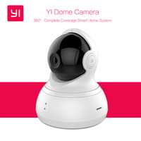 "Wholesale Webcam Dome Wifi - [International Edition] Xiaomi YI Dome Home Camera 112"" IP Camera 720P Xiaoyi 360"" PTZ WiFi Webcam Infrared Night Vision"