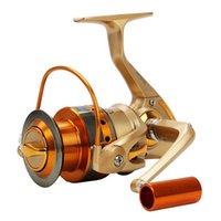 Wholesale Rocker Wheels - The spinning wheel type fishing reel wheel, raft, full metal rocker forgemaster cup fishing line fishing tackle factory