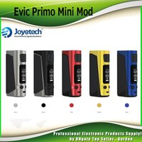 Wholesale Display Size Inches - Original Joyetech eVic Primo Mini TC Mod 1.3 inch Authentic OLED Display 80W 2A Quick Charge System Compact Size 100% Genuine 2220076