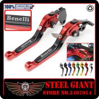 Wholesale Benelli Tnt - Folding Extendable Brake Clutch Levers for Benelli TNT300 TNT600 BN600 BN302 Stels600 Keeway RK6 BN TNT 300 302 600
