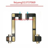 Wholesale ipad mini docking - 10pcs Original For iPad Mini 1 2 3 USB Charger Charging Port Connector Dock Flex Cable