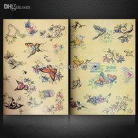 Wholesale Tattoo Flash Sketches - HOT Animal Skull 108 Page Oriental Flash Tattoo Art Book Design Sketch Flashbook
