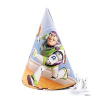 Wholesale Toy Story Theme paper hats party Decoration Baby Happy Birthday evening Party Supplies Wedding for kid
