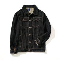 Wholesale Men S Jacket 7xl - New Arrivals Men Denim Jacket Casual Slim Jean Jacket Male Outerwear Fashion Black Coats 7XL