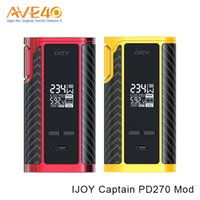 Wholesale Q Cell - iJoy Captain PD270 Box Mod fit 20700 Battery 18650 Cell Max 234w Out Put VS Smok Q box