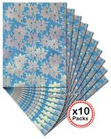 ingrosso testa cravatta africana gele sego-10 set per lotto Gonna africana di SEGO perlata di alta qualità e fodera di testa di Ipele 2283