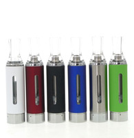 Wholesale Vapor Evod Bcc - Wholesale- 10pcs MT3 EVOD BCC Clearomizer 510 Tank Atomizer e liquid Vapor Vaporizer Vape Cartomizer for ecigs ego ego-t ego-c battery CE4