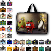 Customizable Neoprene Laptop Bag Tablet Sleeve Pouch para Notebook Computer Bag 10 12 13 15 13.3 15.4 17.3 Para Macbook IPad N2 Y1