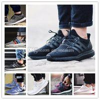 Wholesale Genuine Solid Gold - Ultra Boost 2.0 3.0 4.0 UNCAGED UltraBoost mens running shoes for men Designer sneakers women Sports NMD R2 Core Triple Black White 36-47