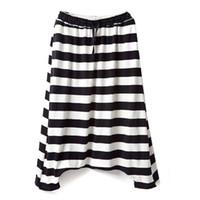 Wholesale Harem Pants Baggy Capris - Women Pants Casual Drop Crotch Loose Harem Pants Plus Size Elastic Waist Fashion Women Trousers Hip Hop Baggy Pants Capris K77