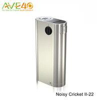 Wholesale Cricket 22 - Wismec Noisy Cricket II-22 Mod with Innovative 2-6V Voltage Regulating Switch and Alternative Operating Mode VS Wismec RX2 3