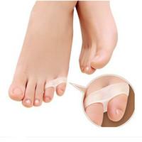 Wholesale Toe Separators For Bunions - LittleToe Pinkie Thumb For Daily Use Hallux Valgus Silicone Gel Toe Bunion Guard Foot Care Little Toe Toe Separator ZA1909