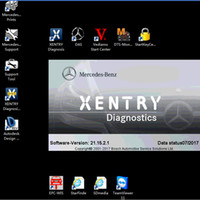 Wholesale Drive Update - New 2017.09 MB STAR C4 full Software Included XENTRY DAS EPC WIS EWA VEDIAMO hard drive 500GB HDD SD Connect C4