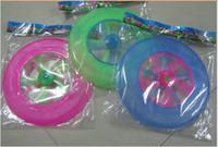 ingrosso ufo novità-Felice disco luminoso UFO luminoso disco volante Ugo UFO correre nuovi prodotti selvatici per diffondere i prodotti di giocattoli novità