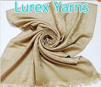 Wholesale Silk Rainbow Scarf - Top Quality Shiny Lurex Yarns Mo Rainbow shawl Factory price classic cotton pashmina shawl silk scarf metal silk scarf printing scarf wraps