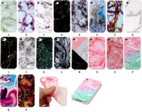 Wholesale Case Iphone Rocks - Fashion Stone Marble Rock Grain Soft TPU IMD Case For Galaxy S8 Plus S7 Edge S6 Grand Prime G530 J5 J7 J3 J310 J510 J710 S5 Gel Covers Skin