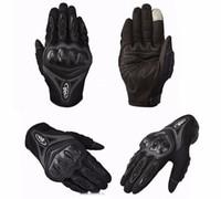 nylon motorrad handschuhe großhandel-Motorradhandschuhe Wasserdicht AX ST-07 Motorrad Fahrradfahren Schutzhandschuhe Touchscreen Motorradhandschuhe Vollfinger