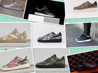 Wholesale Boys Skating Shoes - 2017 Style EQT suede Air One 1 Low Racer ACE 16+ Pure Control Ultra Boost Springblade Drive Skate 36-45 Boy First Walkers shoes