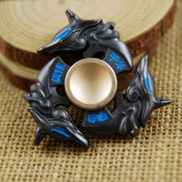 Wholesale New Hand Spinner Metal Alloy Fidget Focus EDC Finger Spin Gyro ADHD Autism Toy