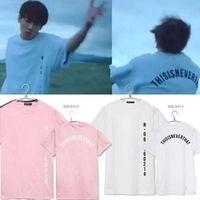 Wholesale Couples Same T Shirt - Wholesale- 2016 New Arrival BTS T-shirt Bangtan Boys Unisex Tee Kpop BTS SAVE ME JUNGKOOK Same Style short sleeves Couple T shirt tee